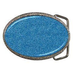 Festive Blue Glitter Texture Belt Buckles by yoursparklingshop