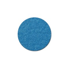 Festive Blue Glitter Texture Golf Ball Marker by yoursparklingshop