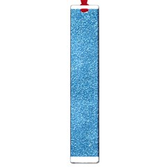 Festive Blue Glitter Texture Large Book Marks by yoursparklingshop