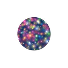 Starlight Shiny Glitter Stars Golf Ball Marker (10 Pack) by yoursparklingshop