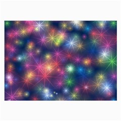 Starlight Shiny Glitter Stars Large Glasses Cloth (2 Side) by yoursparklingshop