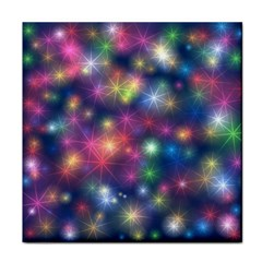 Starlight Shiny Glitter Stars Face Towel by yoursparklingshop