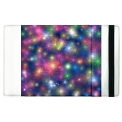Starlight Shiny Glitter Stars Apple Ipad 2 Flip Case by yoursparklingshop