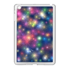 Starlight Shiny Glitter Stars Apple Ipad Mini Case (white) by yoursparklingshop