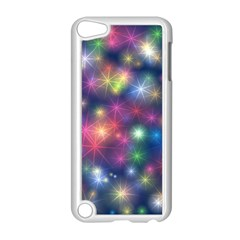 Starlight Shiny Glitter Stars Apple Ipod Touch 5 Case (white) by yoursparklingshop