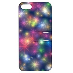 Starlight Shiny Glitter Stars Apple Iphone 5 Hardshell Case With Stand by yoursparklingshop
