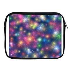 Starlight Shiny Glitter Stars Apple Ipad 2/3/4 Zipper Cases by yoursparklingshop