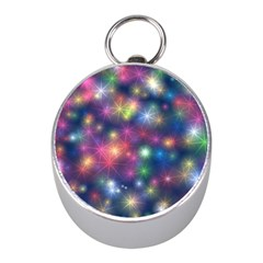 Starlight Shiny Glitter Stars Mini Silver Compasses by yoursparklingshop