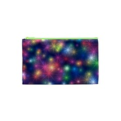Starlight Shiny Glitter Stars Cosmetic Bag (xs) by yoursparklingshop