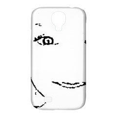 Portrait Black And White Girl Samsung Galaxy S4 Classic Hardshell Case (pc+silicone) by yoursparklingshop