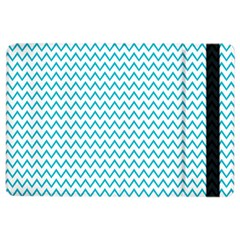 Blue White Chevron Ipad Air 2 Flip by yoursparklingshop