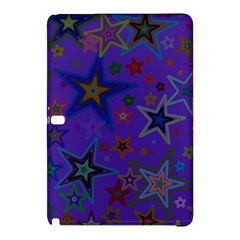 Purple Christmas Party Stars Samsung Galaxy Tab Pro 10 1 Hardshell Case by yoursparklingshop
