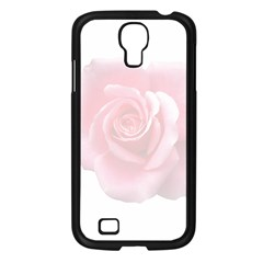 Pink White Love Rose Samsung Galaxy S4 I9500/ I9505 Case (black) by yoursparklingshop