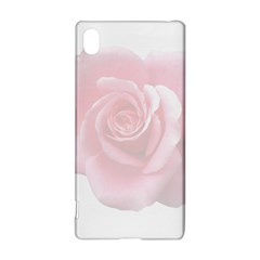 Pink White Love Rose Sony Xperia Z3+ by yoursparklingshop
