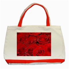 Red Love Roses Classic Tote Bag (red) by yoursparklingshop