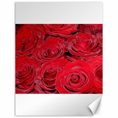 Red Love Roses Canvas 12  X 16   by yoursparklingshop