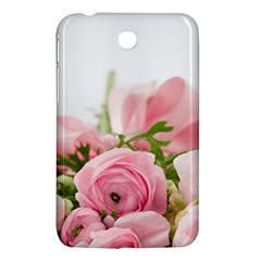 Romantic Pink Flowers Samsung Galaxy Tab 3 (7 ) P3200 Hardshell Case  by yoursparklingshop