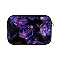 Purple Glitter Roses Valentine Love Apple Ipad Mini Zipper Cases by yoursparklingshop
