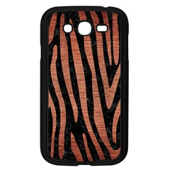 Skin4 Black Marble & Copper Brushed Metal (r) Samsung Galaxy Grand Duos I9082 Case (black) by trendistuff