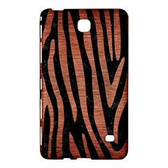 Skin4 Black Marble & Copper Brushed Metal (r) Samsung Galaxy Tab 4 (7 ) Hardshell Case  by trendistuff