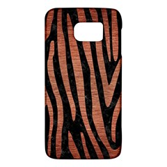 Skin4 Black Marble & Copper Brushed Metal (r) Samsung Galaxy S6 Hardshell Case  by trendistuff