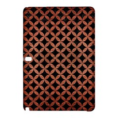 Circles3 Black Marble & Copper Brushed Metal Samsung Galaxy Tab Pro 12 2 Hardshell Case by trendistuff