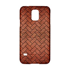 Brick2 Black Marble & Copper Brushed Metal (r) Samsung Galaxy S5 Hardshell Case  by trendistuff