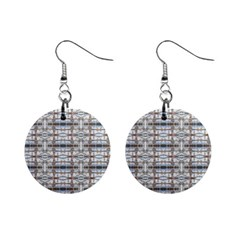 Geometric Diamonds Mini Button Earrings