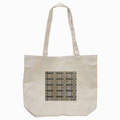 Geometric Diamonds Tote Bag (cream) by yoursparklingshop
