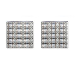 Geometric Diamonds Cufflinks (square) by yoursparklingshop