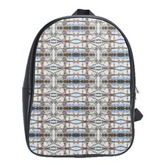 Geometric Diamonds School Bags(large)  by yoursparklingshop