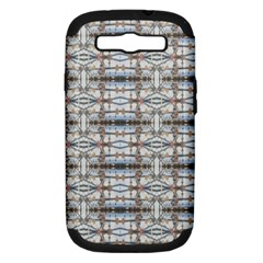 Geometric Diamonds Samsung Galaxy S Iii Hardshell Case (pc+silicone) by yoursparklingshop