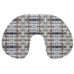 Geometric Diamonds Travel Neck Pillows by yoursparklingshop
