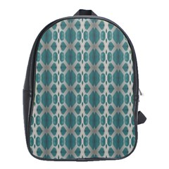 Tropical Blue Abstract Ocean Drops School Bags(large)  by yoursparklingshop
