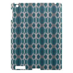 Tropical Blue Abstract Ocean Drops Apple Ipad 3/4 Hardshell Case by yoursparklingshop