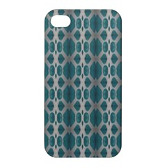 Tropical Blue Abstract Ocean Drops Apple Iphone 4/4s Premium Hardshell Case by yoursparklingshop