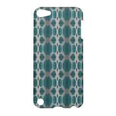 Tropical Blue Abstract Ocean Drops Apple Ipod Touch 5 Hardshell Case by yoursparklingshop