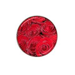 Red Roses Love Hat Clip Ball Marker (10 Pack) by yoursparklingshop