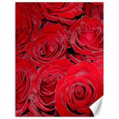 Red Roses Love Canvas 12  X 16   by yoursparklingshop