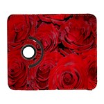 Red Roses Love Samsung Galaxy S  III Flip 360 Case Front