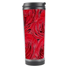 Red Roses Love Travel Tumbler by yoursparklingshop