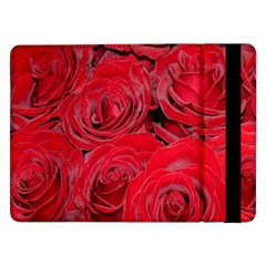 Red Roses Love Samsung Galaxy Tab Pro 12 2  Flip Case by yoursparklingshop