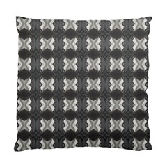 Black White Gray Crosses Standard Cushion Case (two Sides) by yoursparklingshop