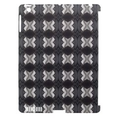 Black White Gray Crosses Apple Ipad 3/4 Hardshell Case (compatible With Smart Cover) by yoursparklingshop