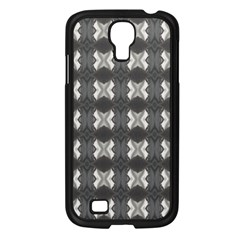 Black White Gray Crosses Samsung Galaxy S4 I9500/ I9505 Case (black) by yoursparklingshop
