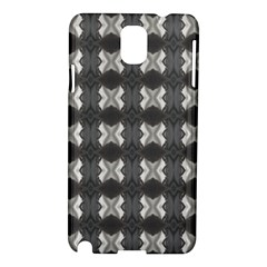 Black White Gray Crosses Samsung Galaxy Note 3 N9005 Hardshell Case by yoursparklingshop