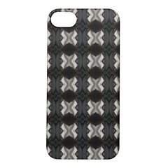 Black White Gray Crosses Apple Iphone 5s/ Se Hardshell Case by yoursparklingshop