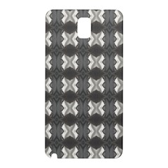 Black White Gray Crosses Samsung Galaxy Note 3 N9005 Hardshell Back Case by yoursparklingshop