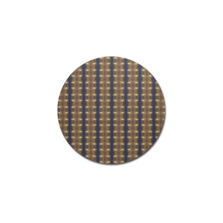 Black Brown Gold Stripes Golf Ball Marker (4 pack)