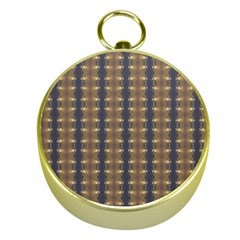 Black Brown Gold Stripes Gold Compasses by yoursparklingshop